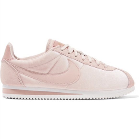 check out b2bbb 747c4 Nike crushed velvet pink Cortez sneakers velour. M 5be51a1d9fe48683cdf1bbac